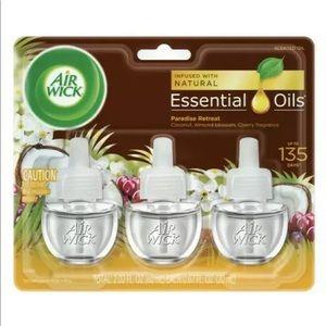Air wick essential oils plug in diffuser refill 3